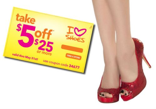Shoe Coupon